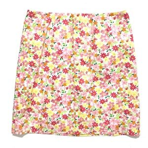 Lilly Pulitzer Floral Pink Lady Bug Print